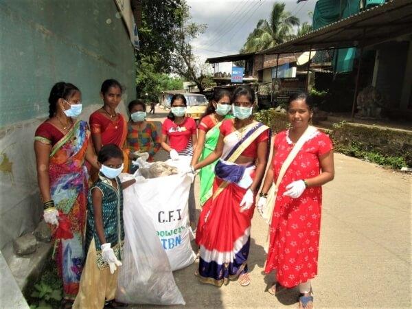 Vi rydder plast i India